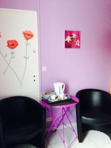 la chambre d 39 h tes floralis les moussaillons wissant h bergement de vacances. Black Bedroom Furniture Sets. Home Design Ideas
